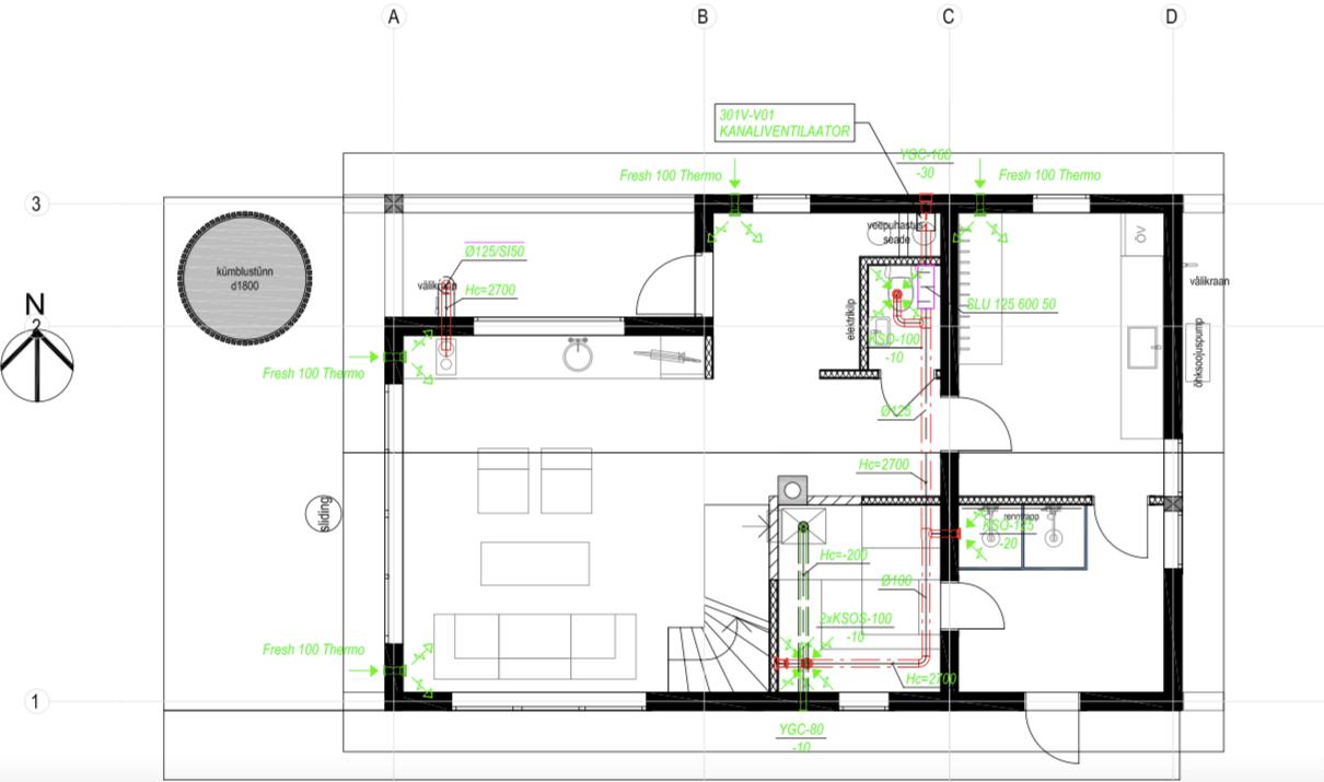 hirsirakentaminen hirsitalon-rakentaminen-ilmanvaihtoratkaisut